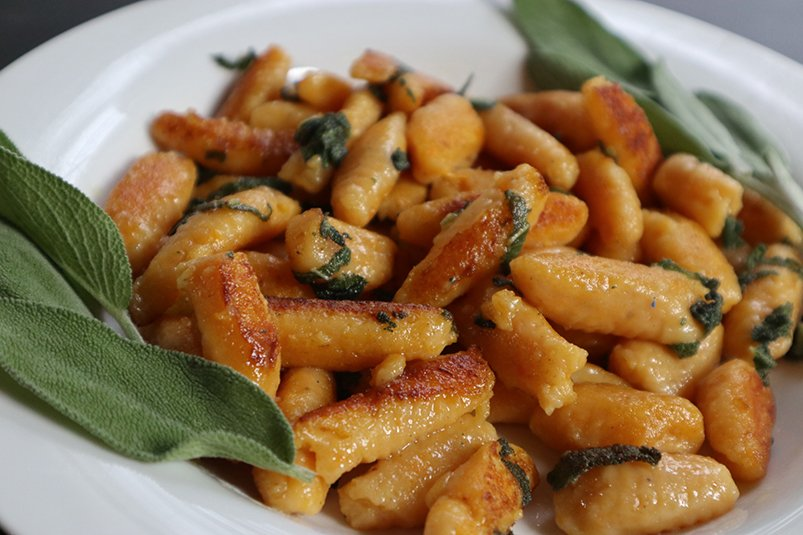Cooked Sweet Potato Gnocci